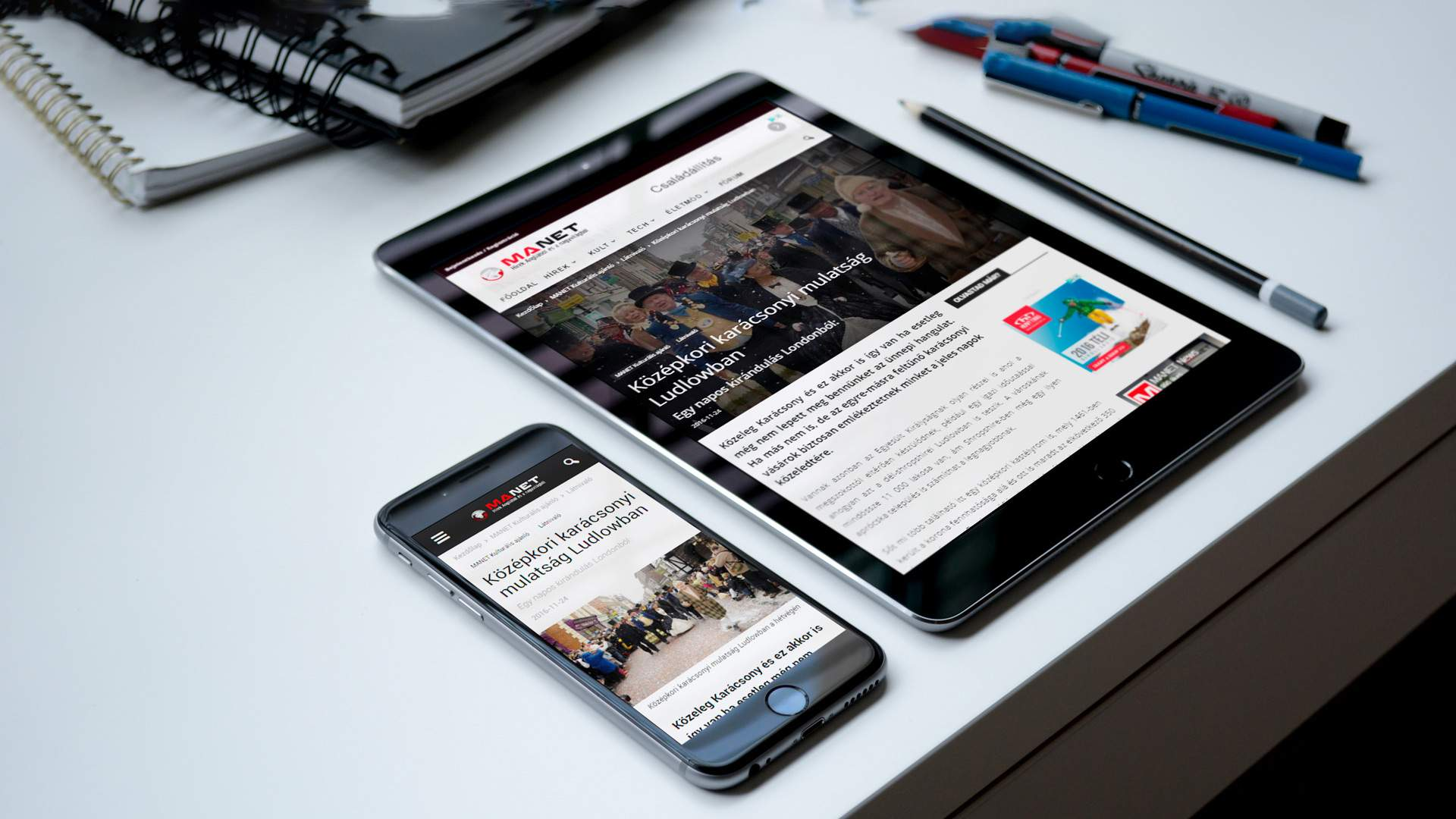Mobilkompatibilis weboldal